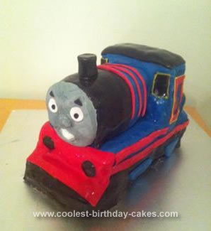 Homemade Thomas Cake