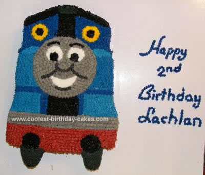 Coolest Thomas The Tank Engine Birthday Cake
