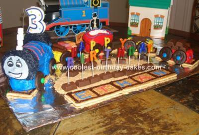 Ethan's Thomas Cake