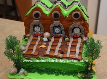 Train Shed Cake