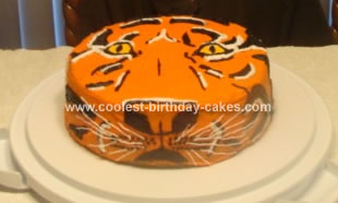 Auburn/Tae Kwon Do Tiger Cake