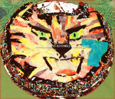 Homemade Tiger Cake