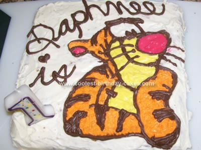 Homemade Tiggy Cake