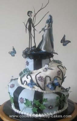 Phenomenal Coolest Tim Burton Corpse Bride Cake Funny Birthday Cards Online Inifodamsfinfo