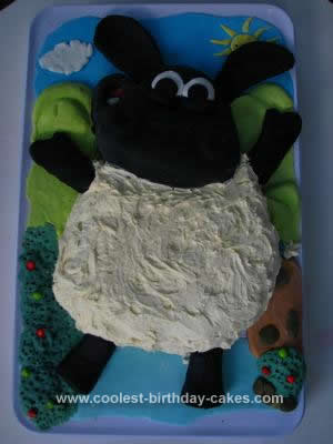 Homemade Timmy Time Birthday Cake