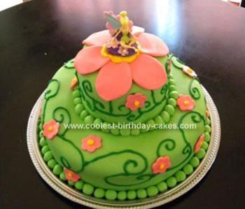 Homemade Tink Cake