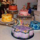 Homemade Tinker Bell Birthday Cake