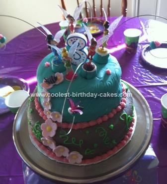 Homemade Goofy Cake Design