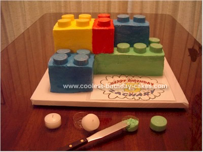 Homemade Tip for Lego Birthday Cake