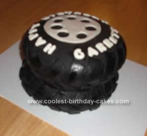 Homemade Tire Cake