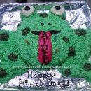 Homemade Toad Birthday Cake