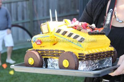 Coolest Tonka Truck Cake