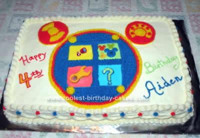 Groovy Coolest Toodles Birthday Cake Idea Funny Birthday Cards Online Alyptdamsfinfo