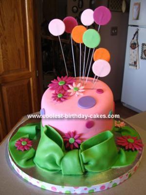 Homemade Topsy Turvy Disater Cake