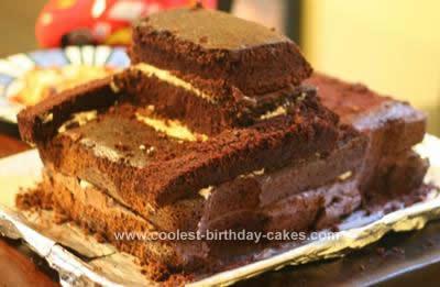 Astonishing Coolest Tow Mater Birthday Cake Funny Birthday Cards Online Kookostrdamsfinfo
