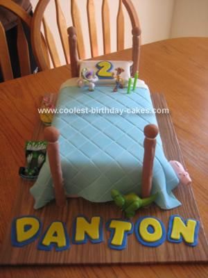 Andy's Room Toy Story Birthday Cake