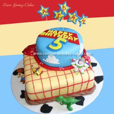 Marvelous Coolest Toy Story Birthday Cake Design Personalised Birthday Cards Rectzonderlifede