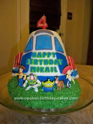 Coolest Toy Story Birthday Cake Idea
