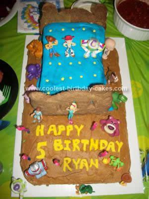 Homemade Toy Story Birthday Cake Idea
