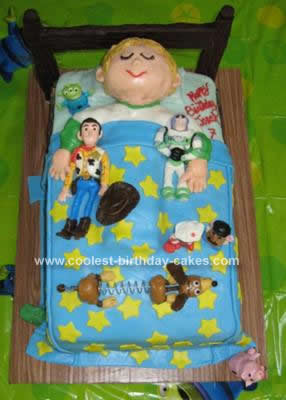 Homemade Toy Story Cake
