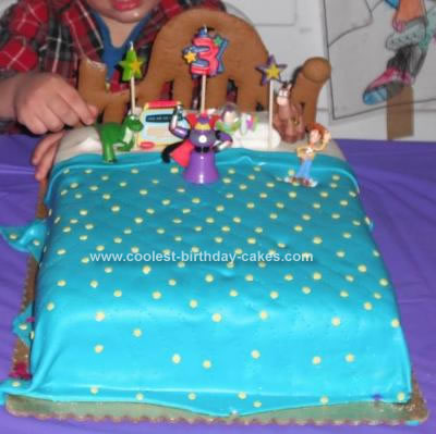 Homemade Toy Story Surprise Cake Design