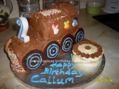 Pleasing Coolest Train Birthday Cake Design Funny Birthday Cards Online Alyptdamsfinfo