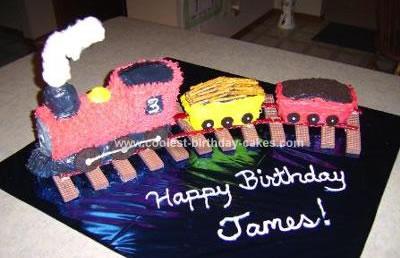 Homemade Train Cake 101