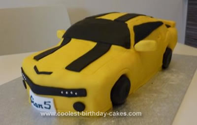 Fine Coolest Homemade Transformers Cakes Funny Birthday Cards Online Elaedamsfinfo