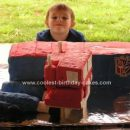 my proud son...only he knws the secret to his cake