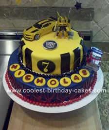Homemade Transforner Cake