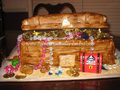 Coolest Treasure Chest Birthday Cake