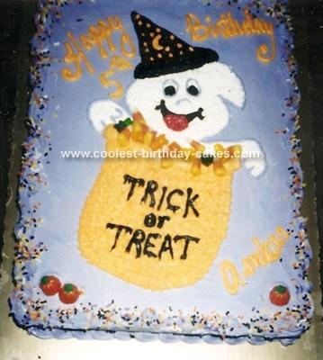 Trick or Treat Cake