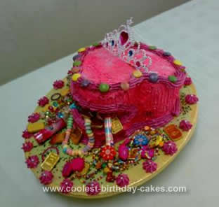 Homemade Trinket Box Cake