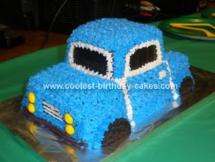 Homemade Truck Cake