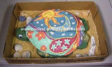 Hippie Turtle Cake