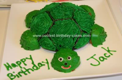 Homemade Turtle Cake
