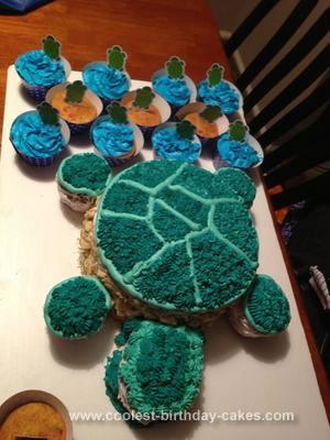 Homemade Turtle Cake