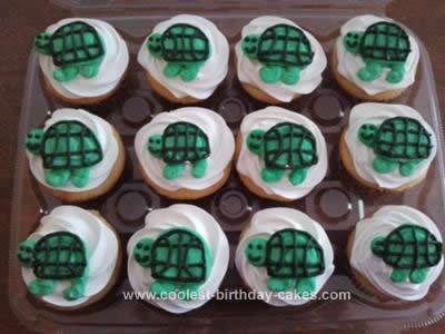 Homemade Turtle Cupcakes