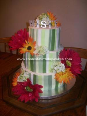 Homemade  Twilight Birthday Cake