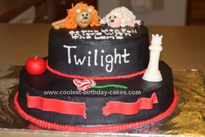 Homemade Twilight Cake