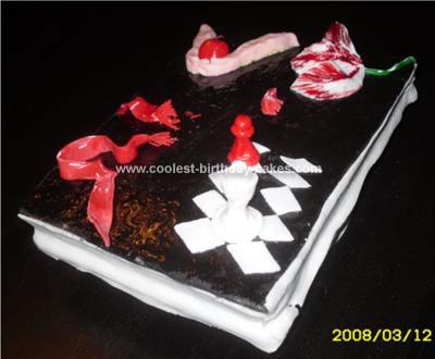 Homemade Twilight Cake