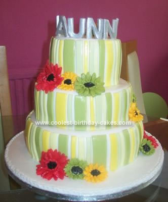Homemade Twilight  Bella Cake