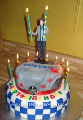 Homemade Twilight Saga Birthday Cake