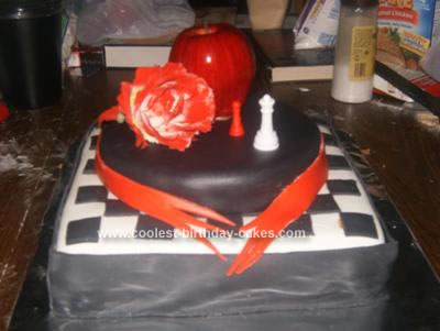Homemade Twilight Saga Cake