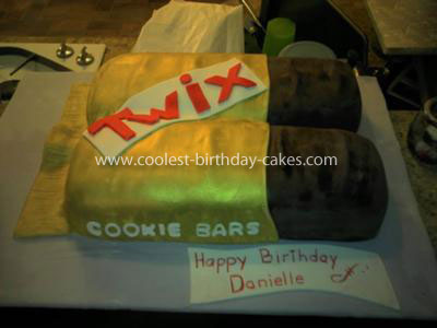 Coolest Twix Candy Bar Cake