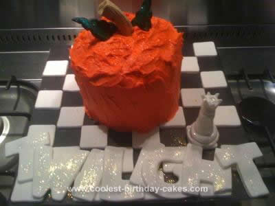 Homemade Twlight Birthday Cake Design