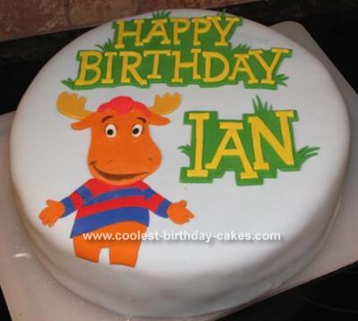 Tyrone Birthday Cake