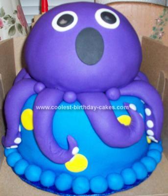 Homemade Under The Sea Cake