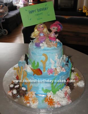 Under The Sea With Friends Cake