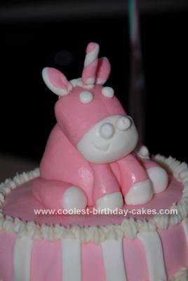 Homemade Unicorn Birthday Cake